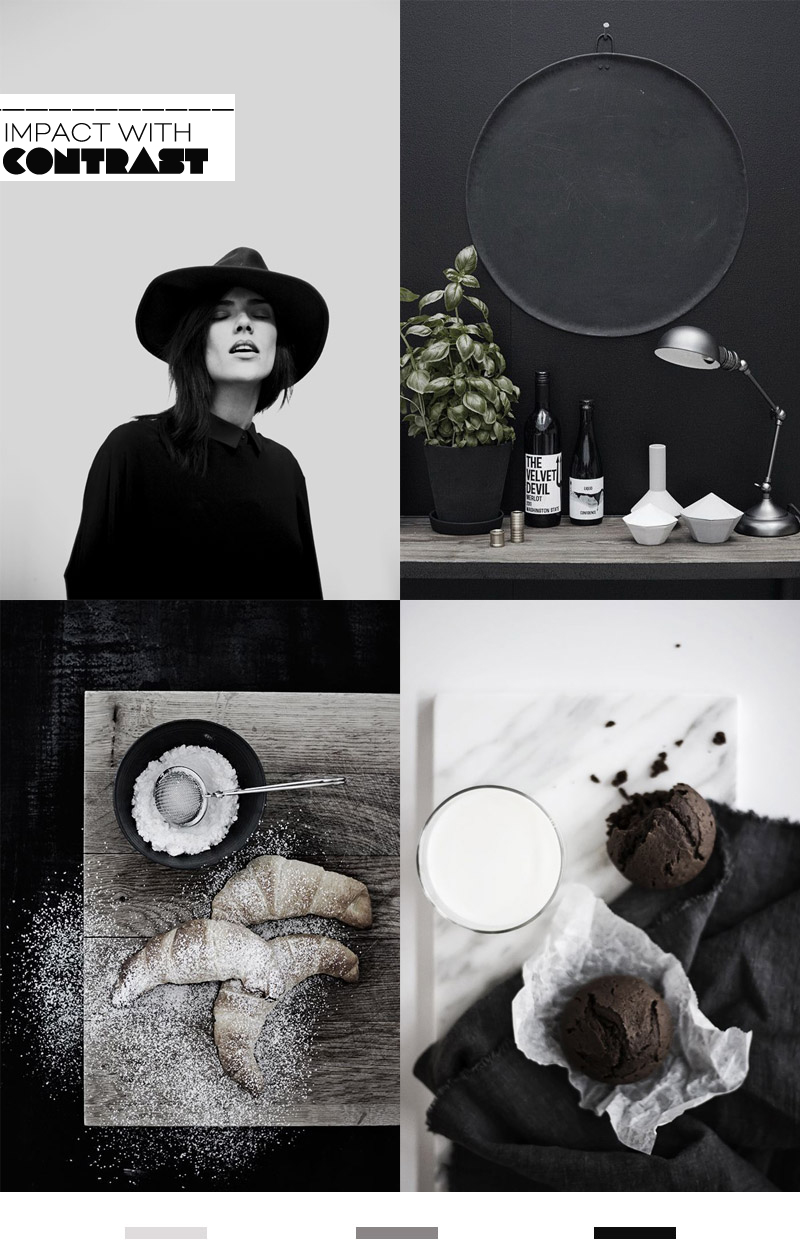 Dine X Design | Styling Trend Dark And Dramatic 3
