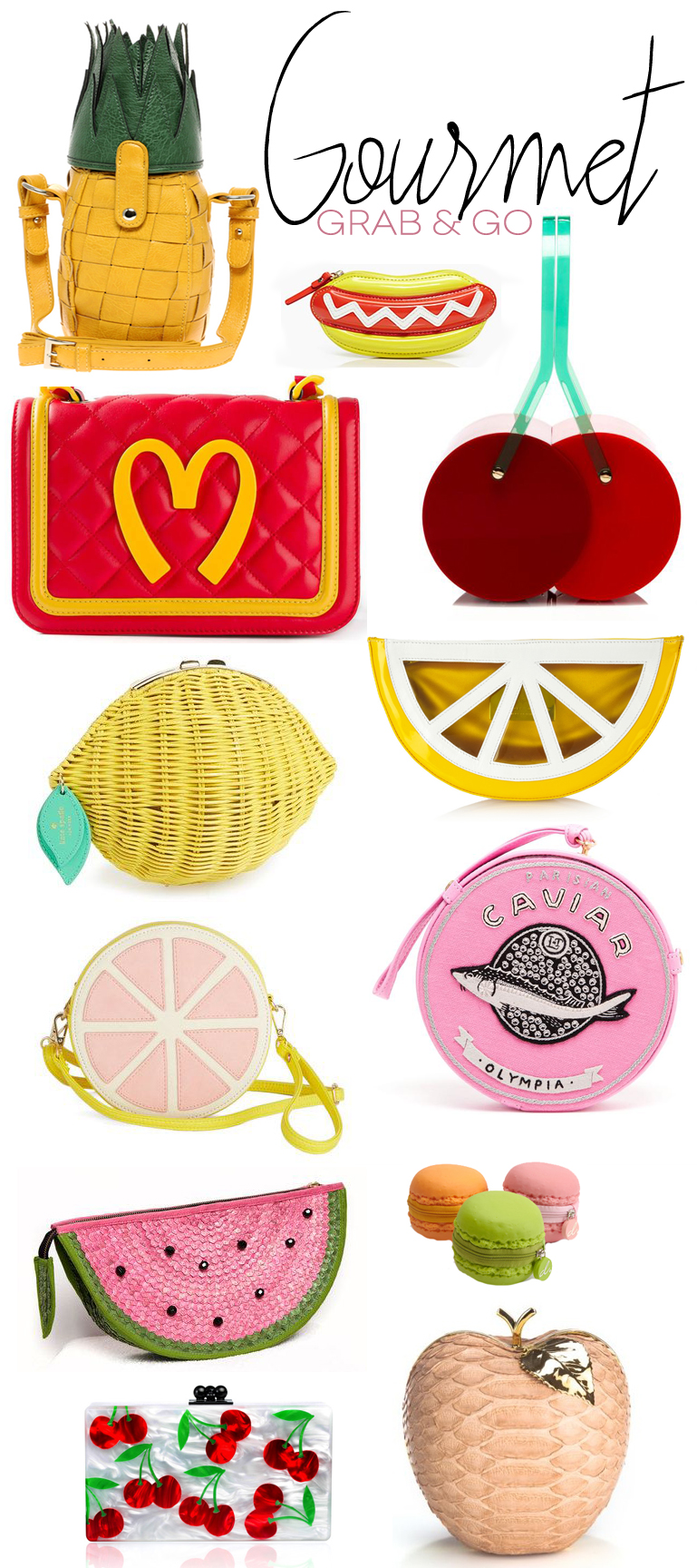 Dine X Design | Food Shaped Purses and Clutches
