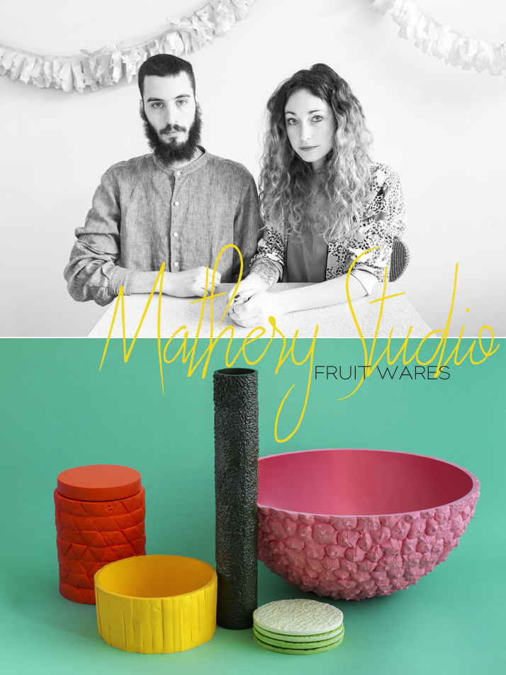 Mathery Studio Fruit Wares  Dine X Design