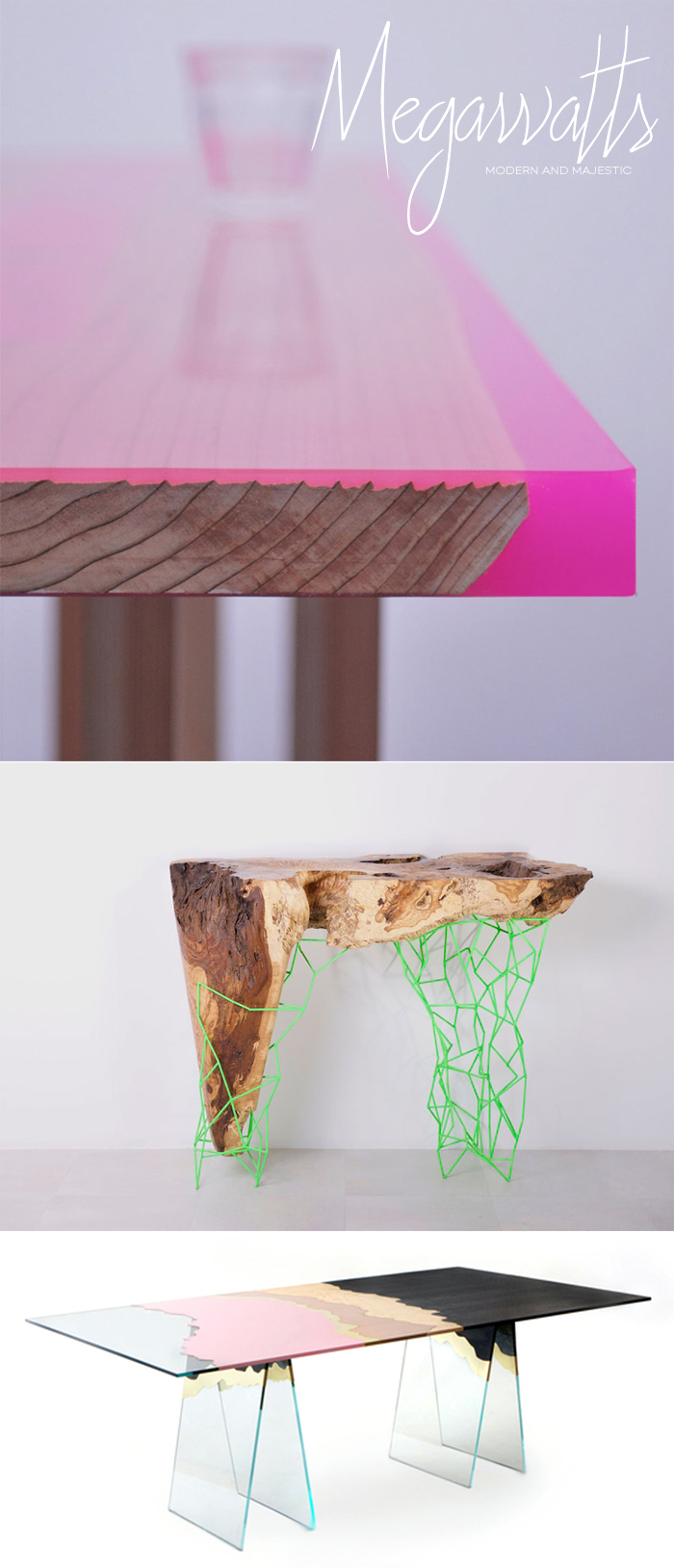 Colorful Modern Dining Tables | Dine X Design