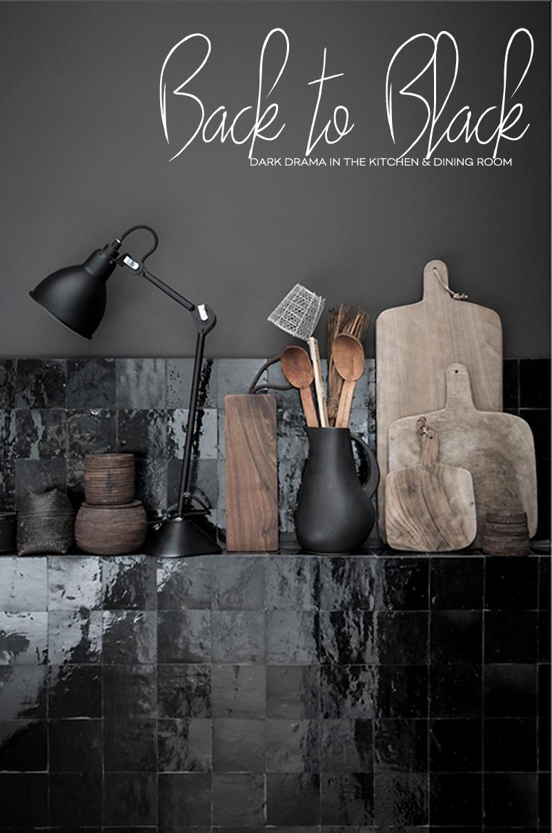 Dine X Design | Black Kitchen And Dining Room Design Trends