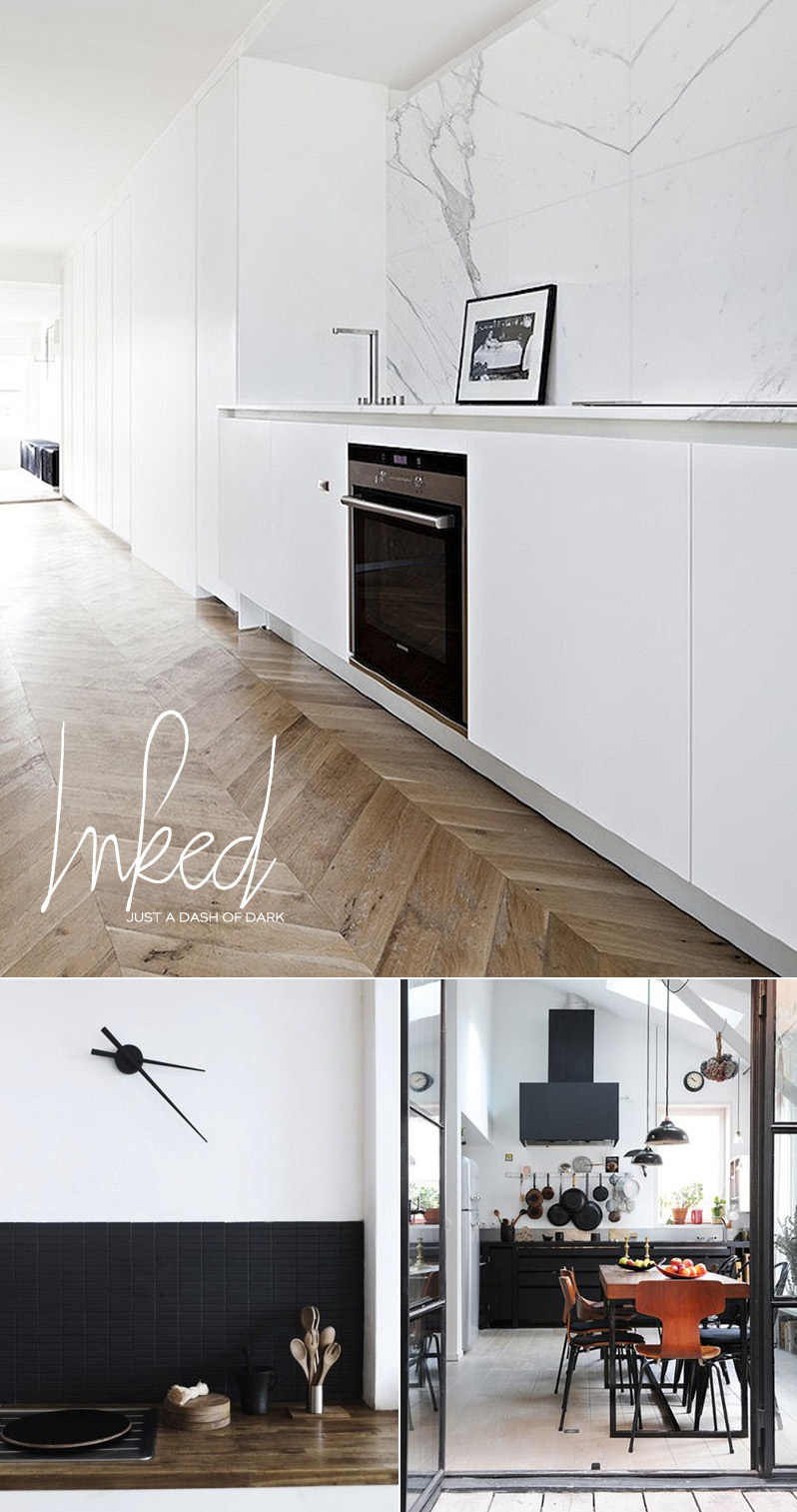 Dine X Design Black Accents In The Kitchen And Dining Room