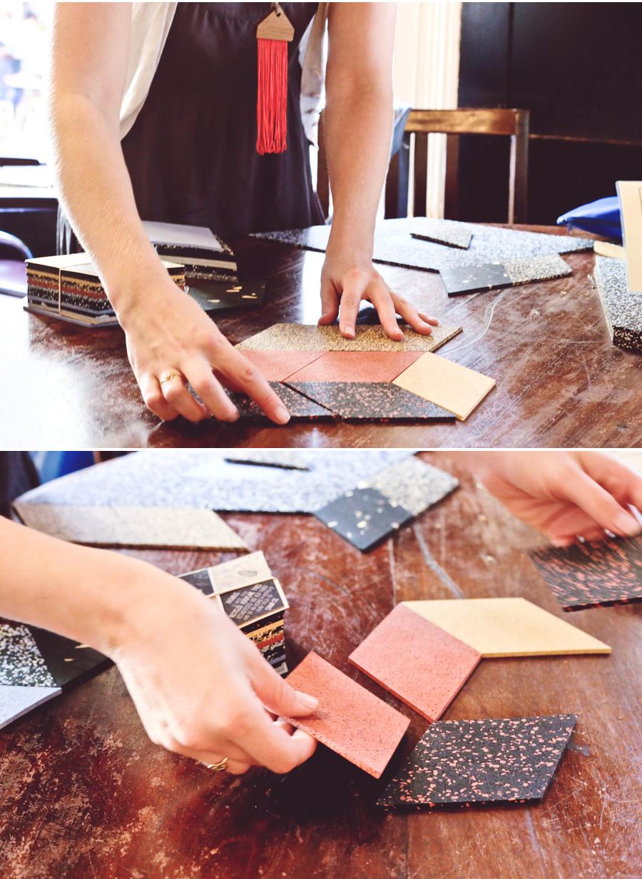 Rhombus Table Trivets Steller Atelier Dine X Design