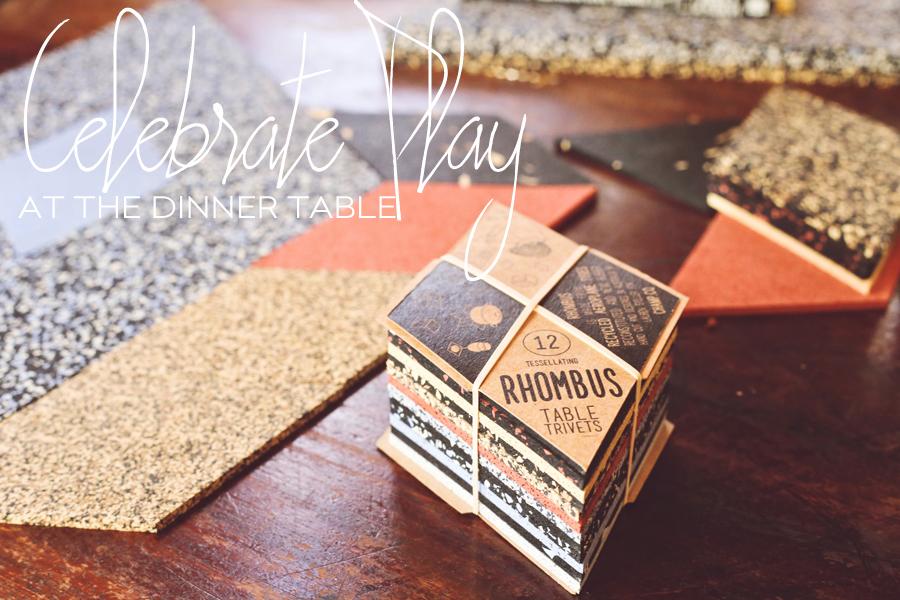 Rhombus Table TrivetsRhombus Table Trivets | Lauren Steller | Dine X Design