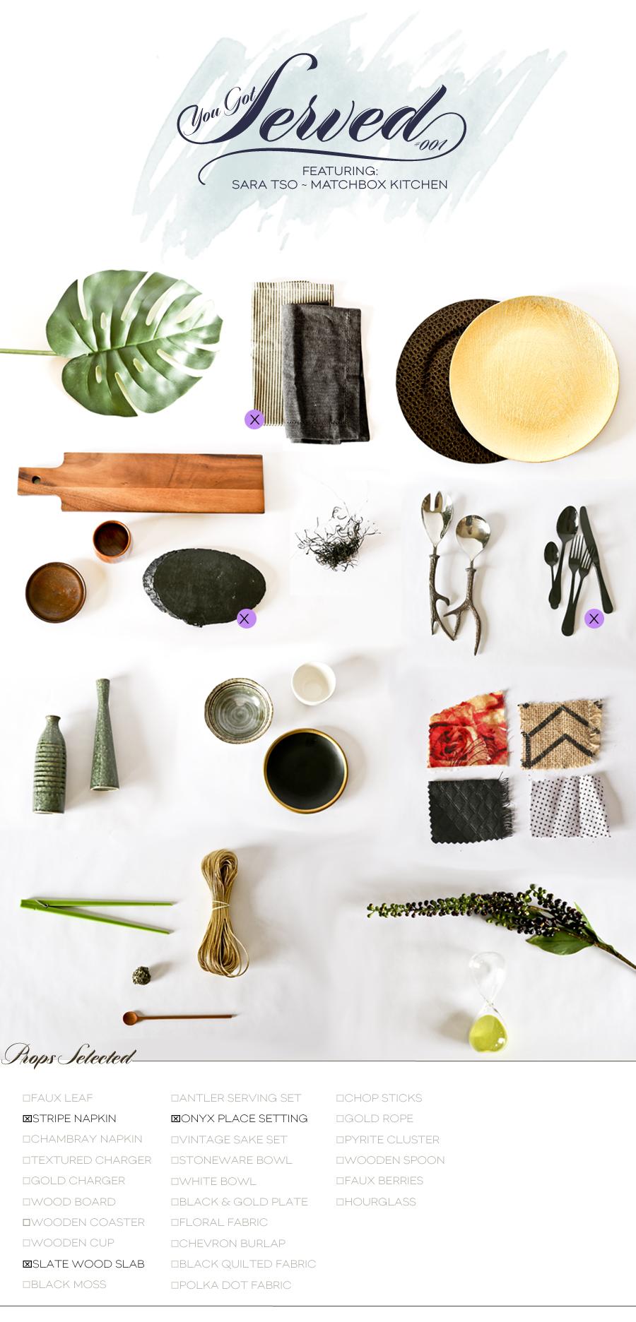 You Got Served | Sara Tso | Box 001 | Dine X Design