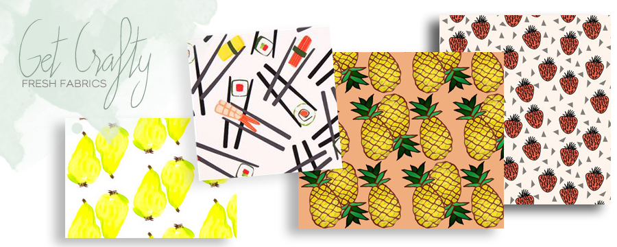 Food Print Fabric For Spring/Summer | Dine X Design