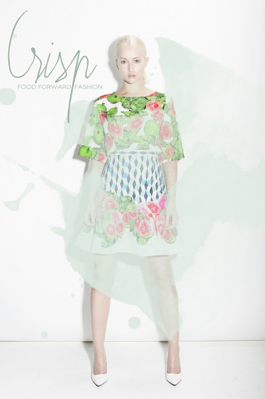 Food Print Clothing For Spring/Summer | Dine X Design