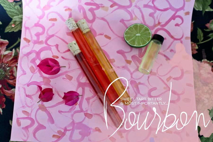 Lovers Leap Cocktail Pink Bourbon Recipe | Dine X Design