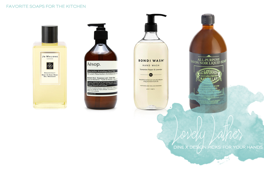 Luxurious Hand Soaps For The Kitchen | Dine X Design