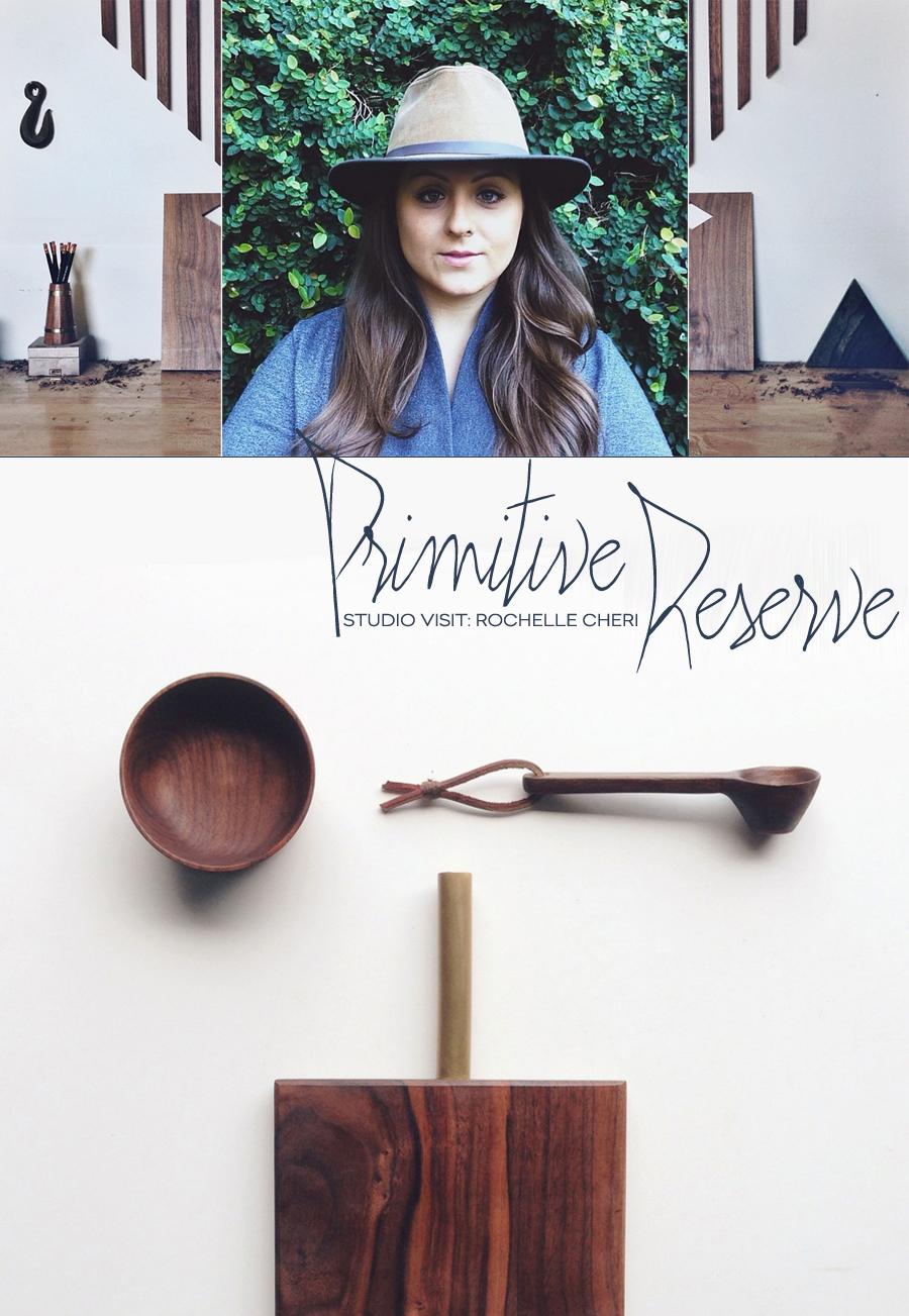 Studio Visit | Primitive Reserve | Dine X Design