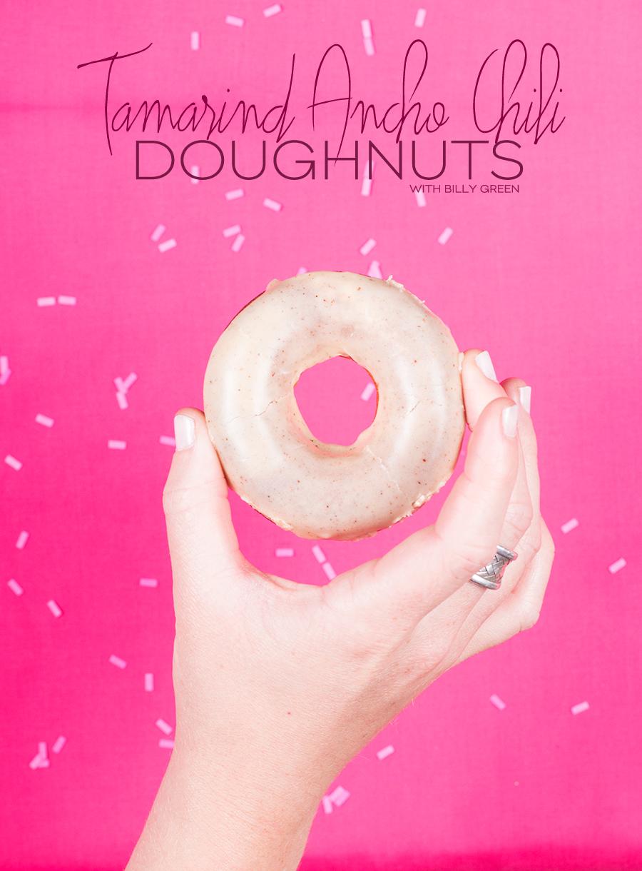Tamarind Ancho Chili Doughnuts | Dine X Design