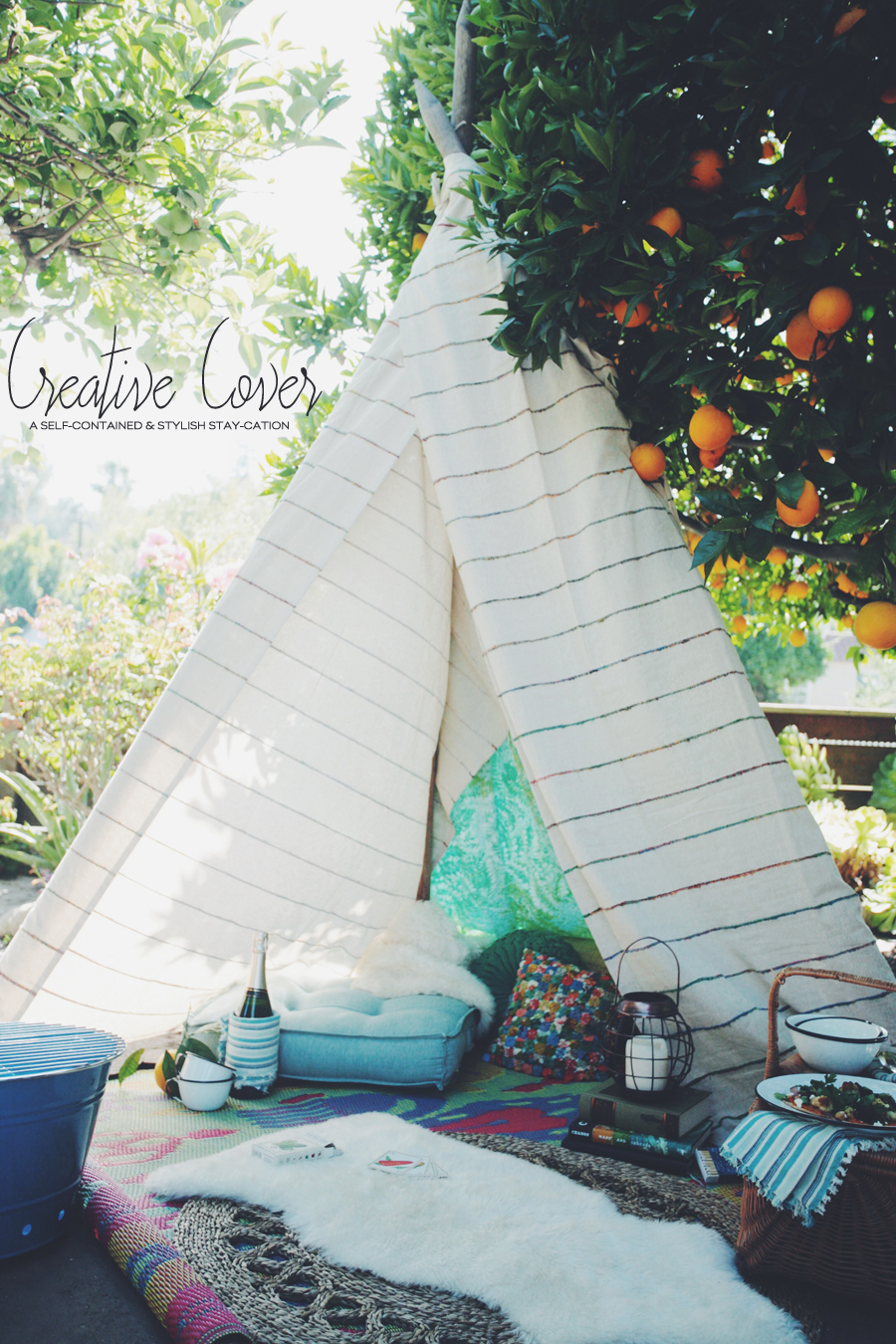 Backyard Glamping | World Market | Dine X Design