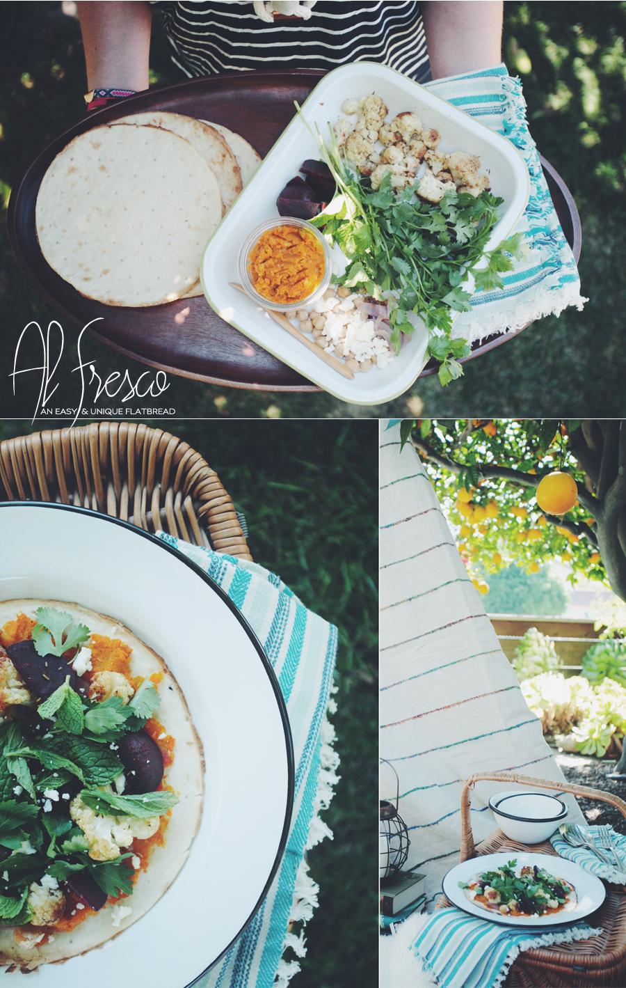 Glamping Flatbread Recipe | World Market | Dine X Design