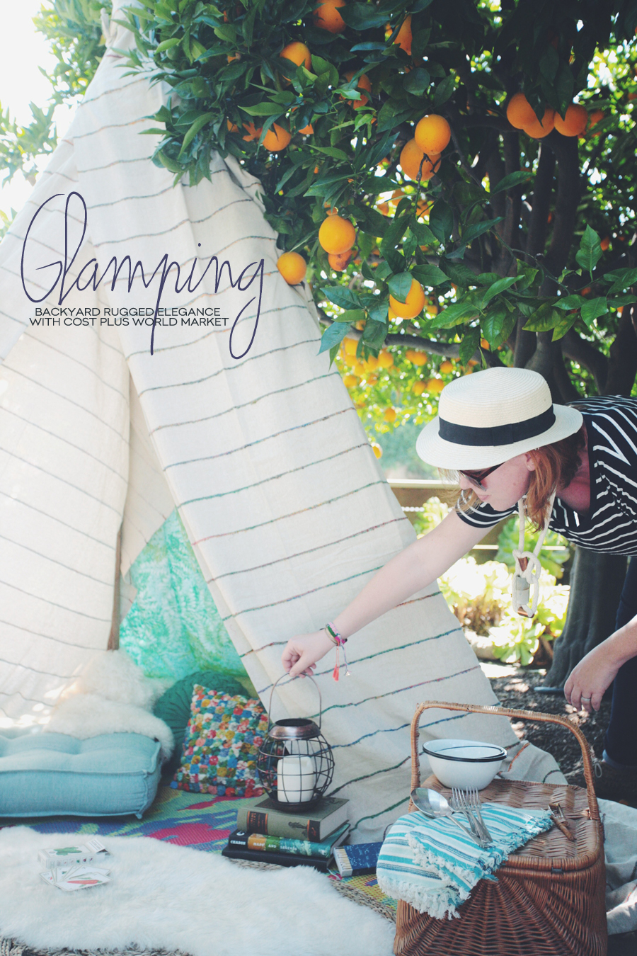 Glamping | Cost Plus World Market |Dine X Design