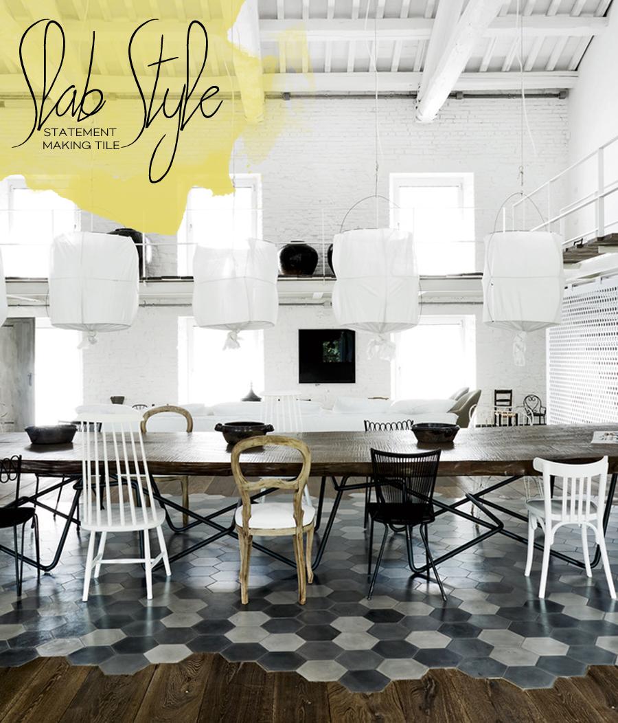 Unique Kitchen Tile Decor | Dine X Design