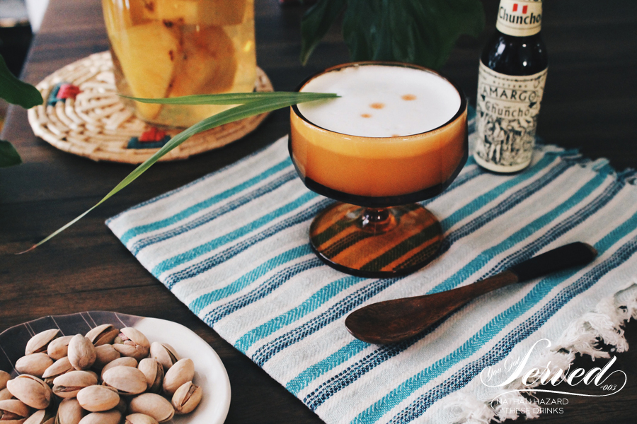 Dine X Design | Piscolada Cocktail | These Drinks