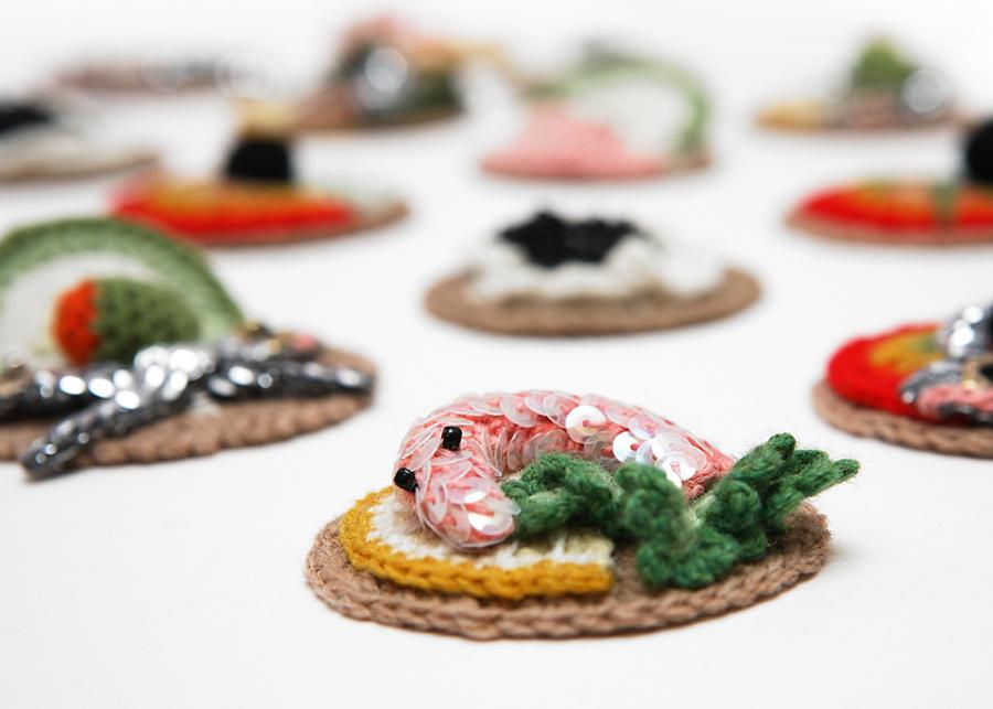 Kate Jenkins Crochet Food | Dine X Design