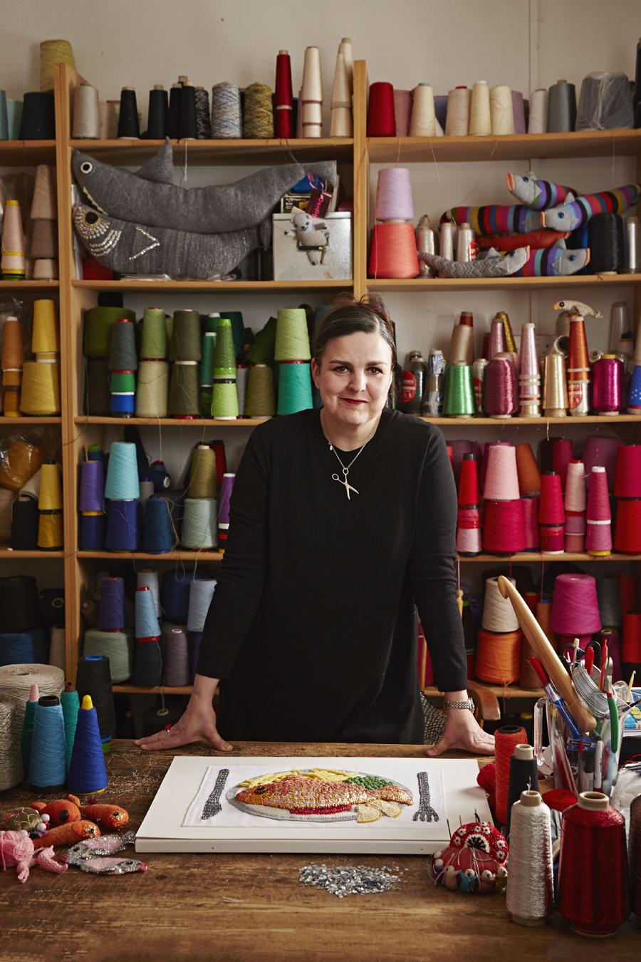 Kate Jenkins Studio Visit | Dine X Design