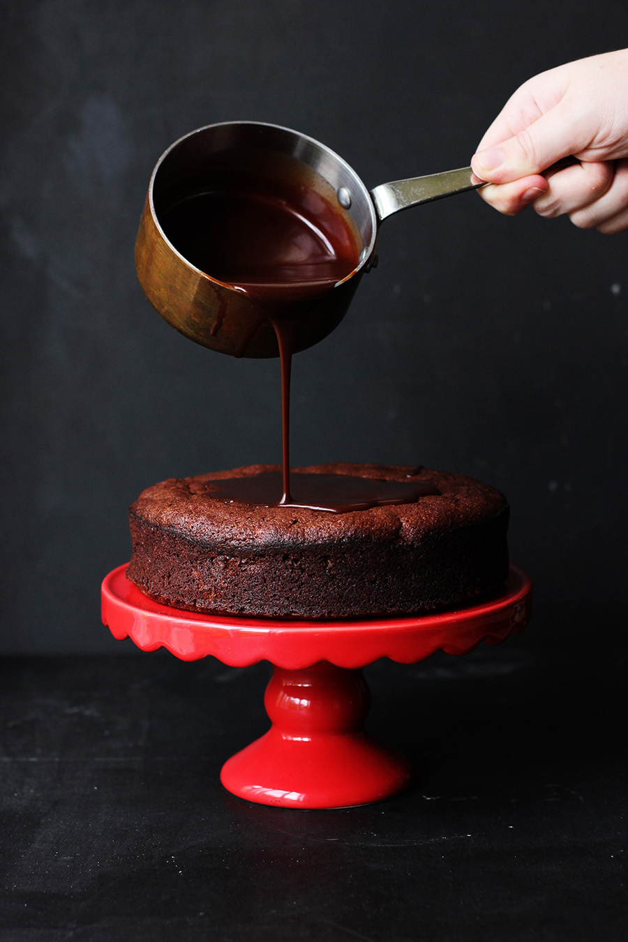Made By Mail | Flourless Chocolate Cake Herbs De Provance | Dine X Design