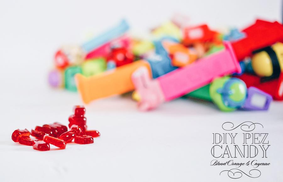 Pez Candy DIY   Blood Orange & Cayenne   Dine X Design