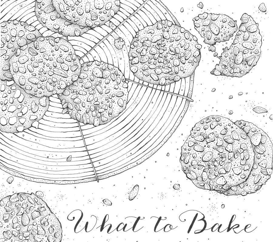 Kerry Lemon | Illustration What To Bake | Dine X Design