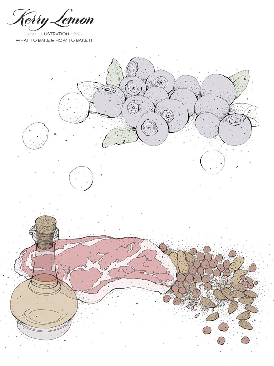 Kerry Lemon | Illustration Profile | Dine X Design
