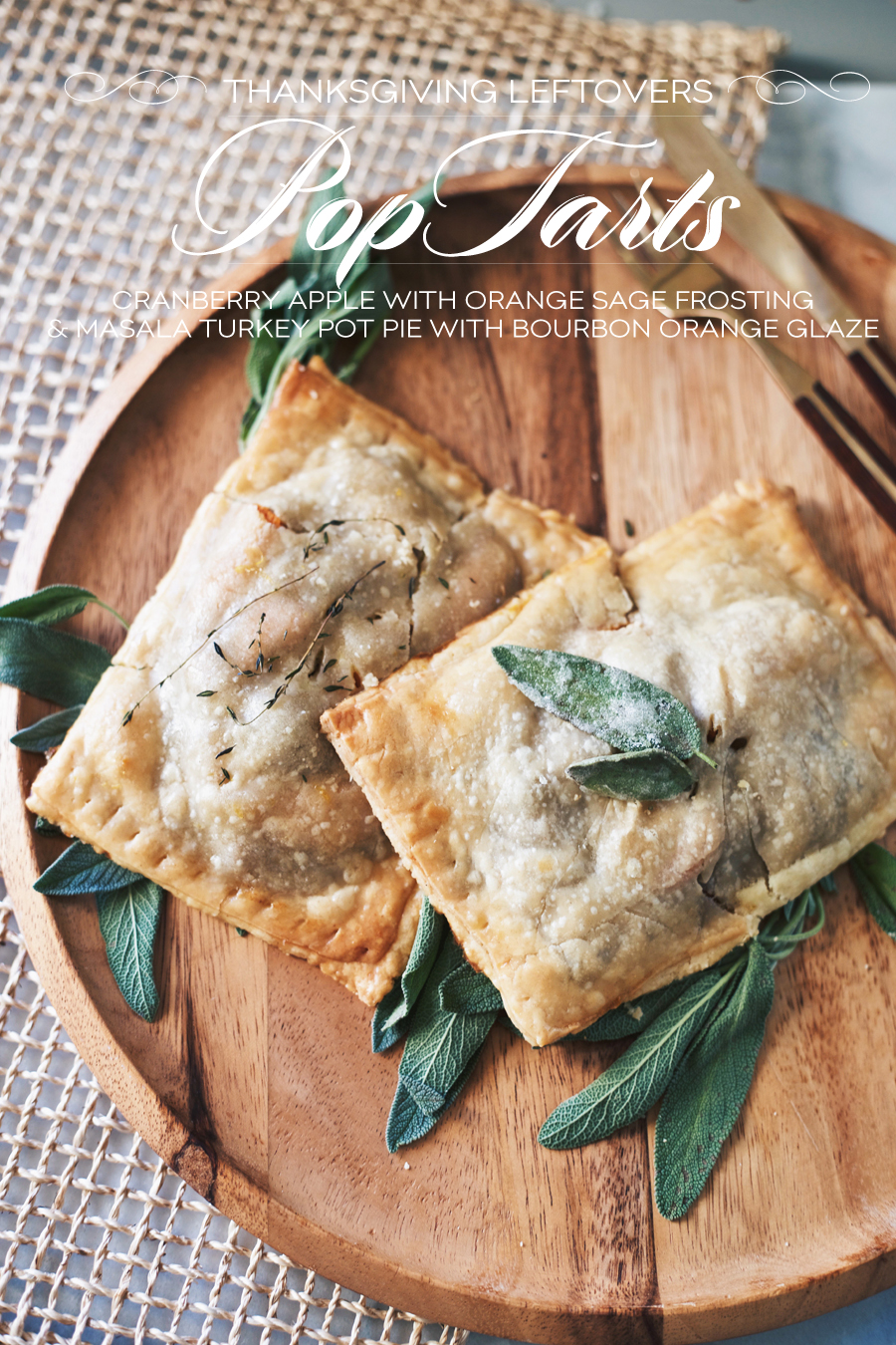 Thanksgiving Leftovers | Pop Tart Recipe | Dine X Design