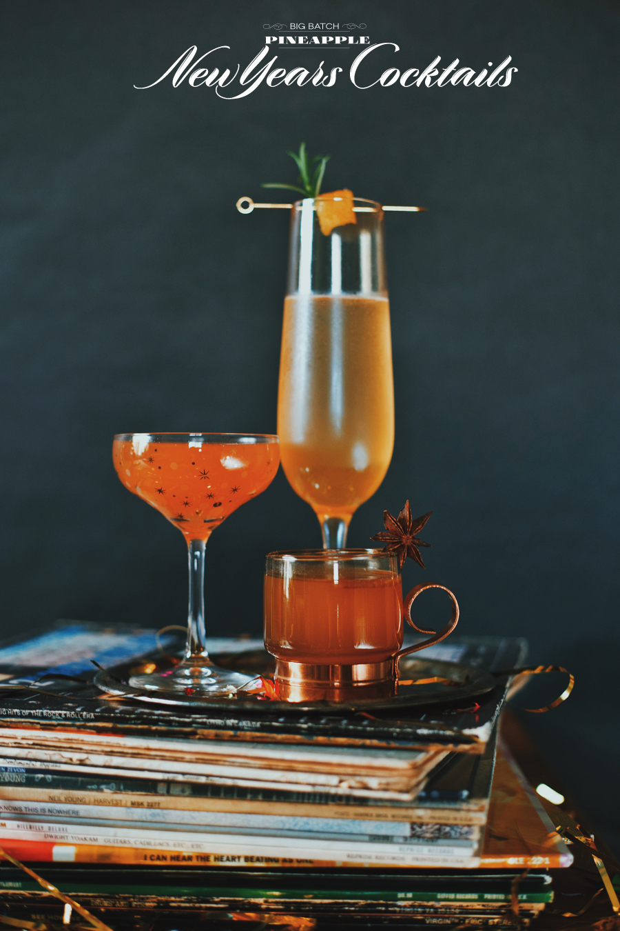 New Years Cocktails | Dine X Design