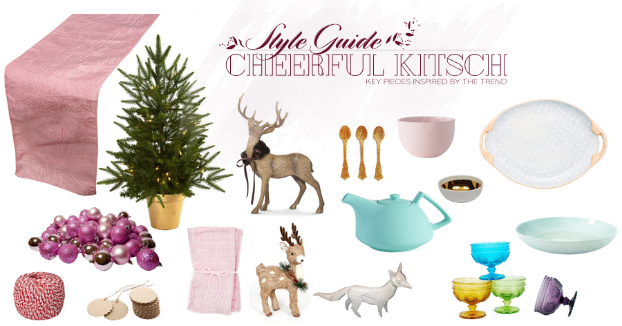 Style Guide | Holiday Modern Table | Cheerful Kitsch Style