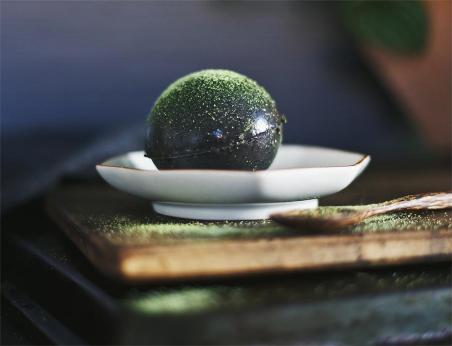 Dairy Free Black Sesame Pudding | Silk Almondmilk | Dine X Design