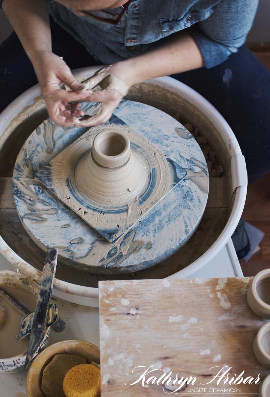 Funsize Ceramics | Kathryn Hribar | Dine X Design