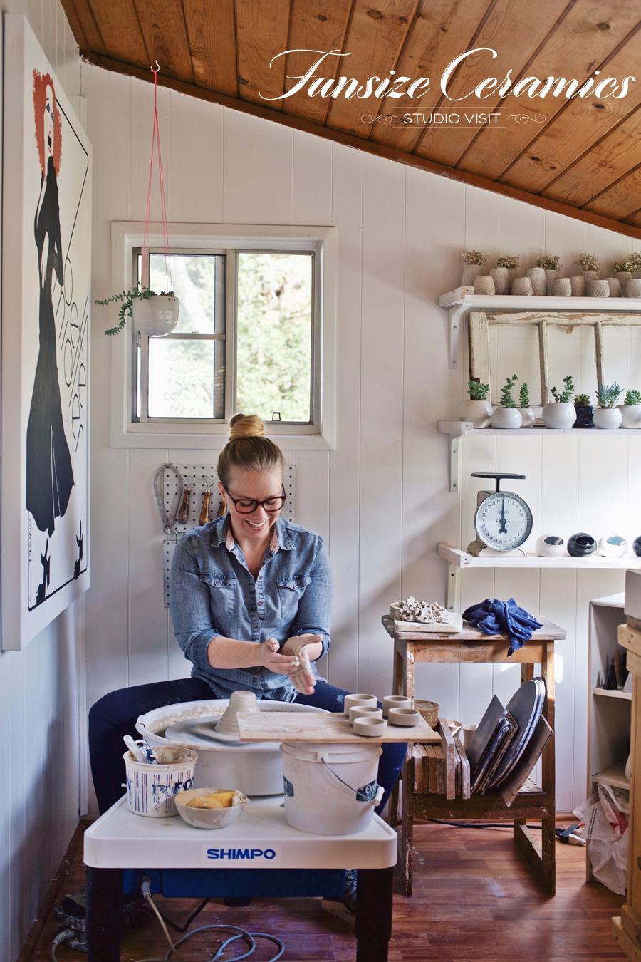 Funsize Ceramics | Studio Visit | Dine X Design