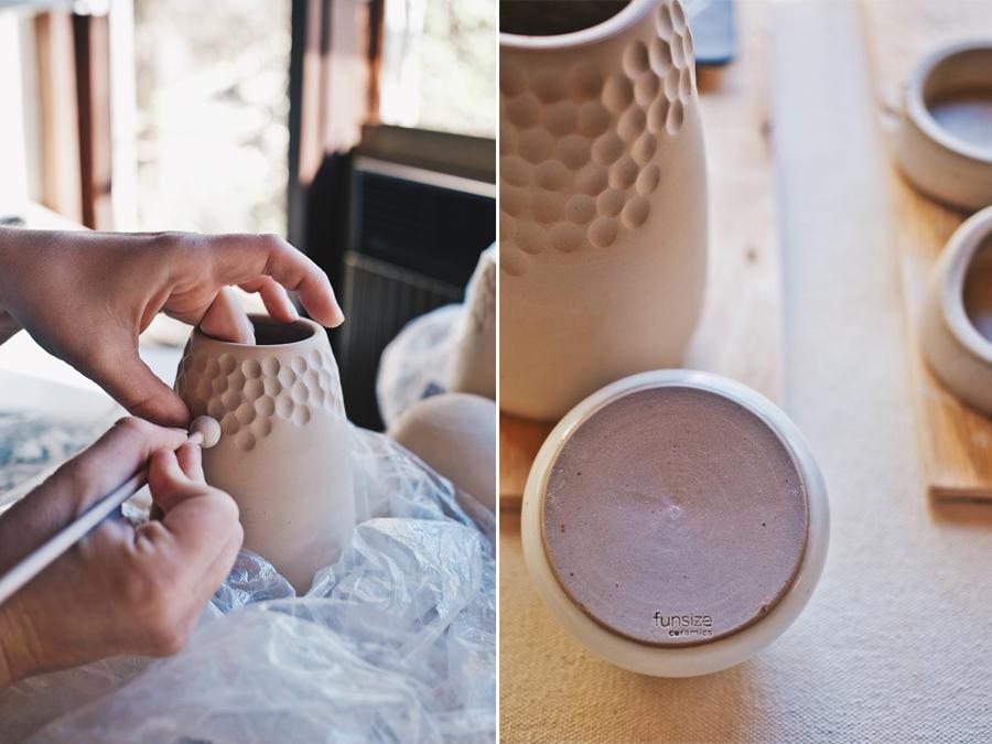 Studio Visit | Funsize Ceramics | Details | Dine X Design