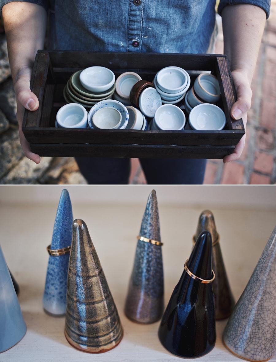 Studio Visit | Funsize Ceramics | Ring Dishes | Dine X Design