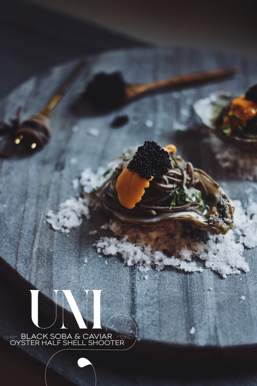 Uni Oyster Shooters | Dine X Design