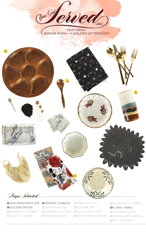 Dine X Design | You Got Served | Box 005 | A GOLDEN AFTERNOON