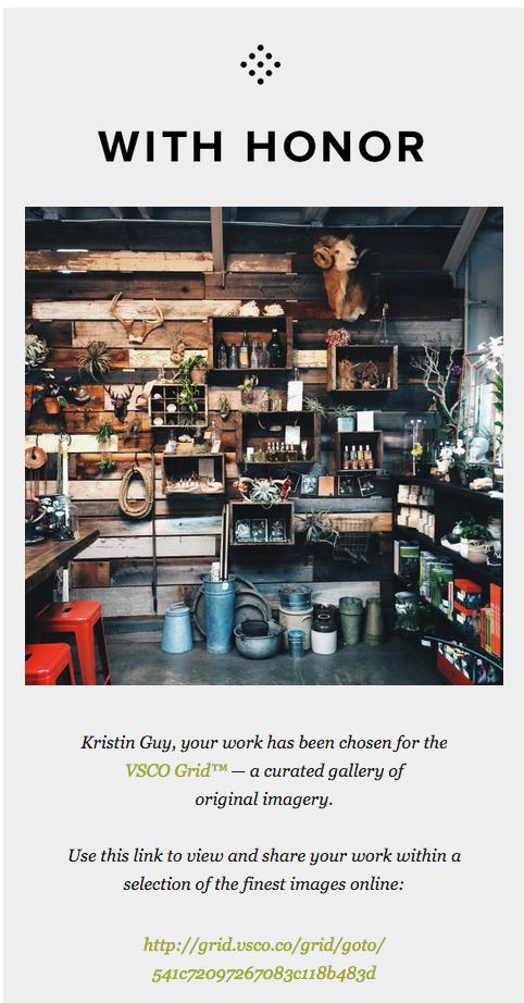 Kristin Guy | vsco press