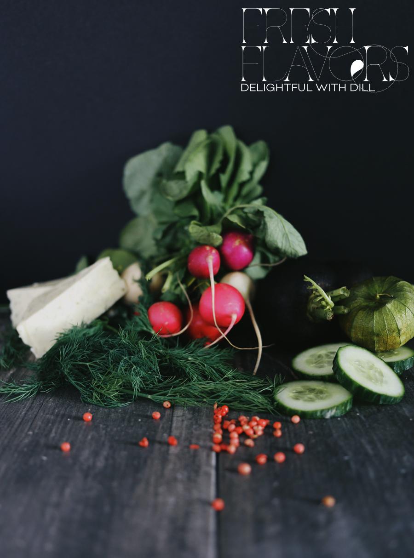 Recipe | Cucumber Tomatillo Ceviche | Dill Havarti Foam | Dine X Design