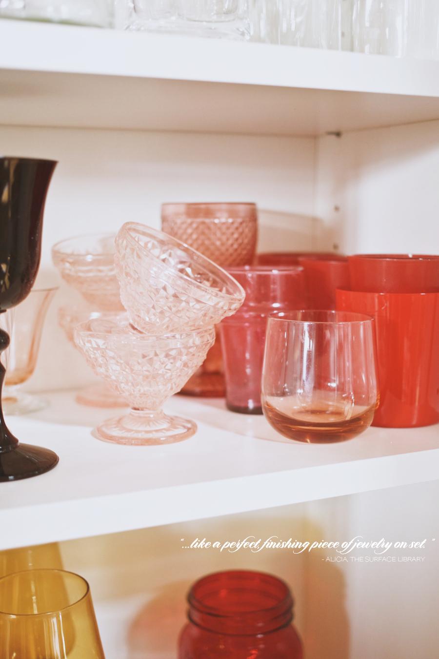 Studio Visit | The Surface Library | Glassware | Dine X Design