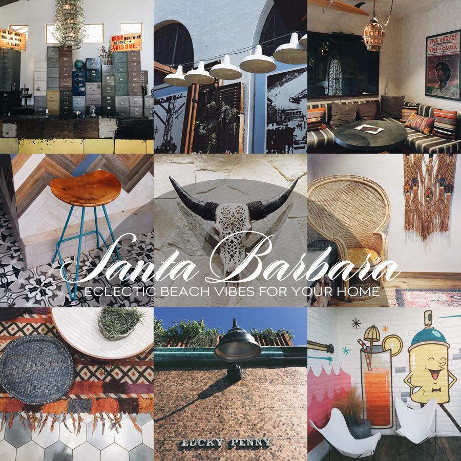 Living The Location | Santa Barbara | Dine X Design