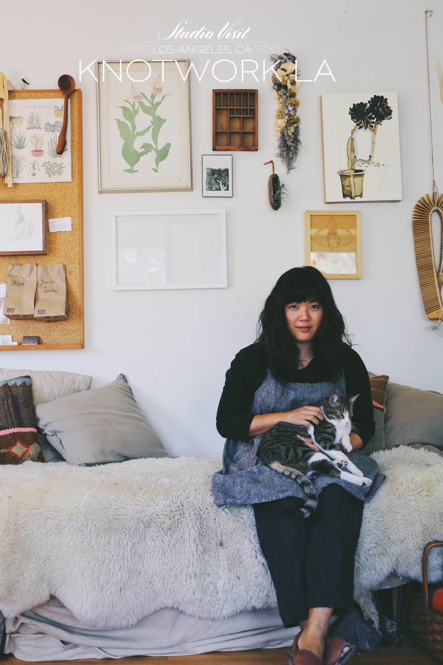 Studio Visit | Knotwork LA | Dine X Design