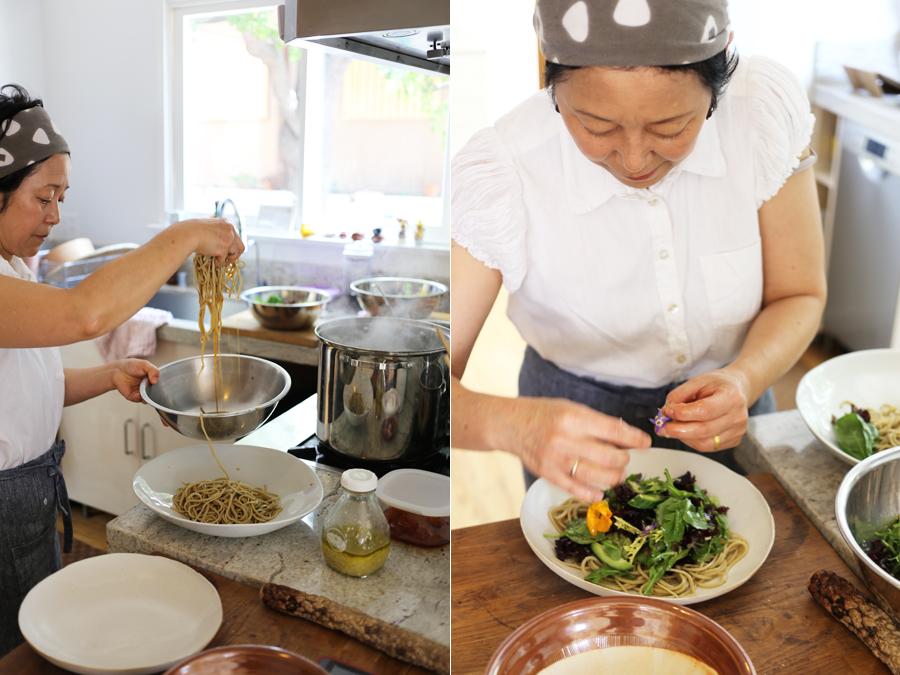 soba with sonoko sakai | interview | dine x design