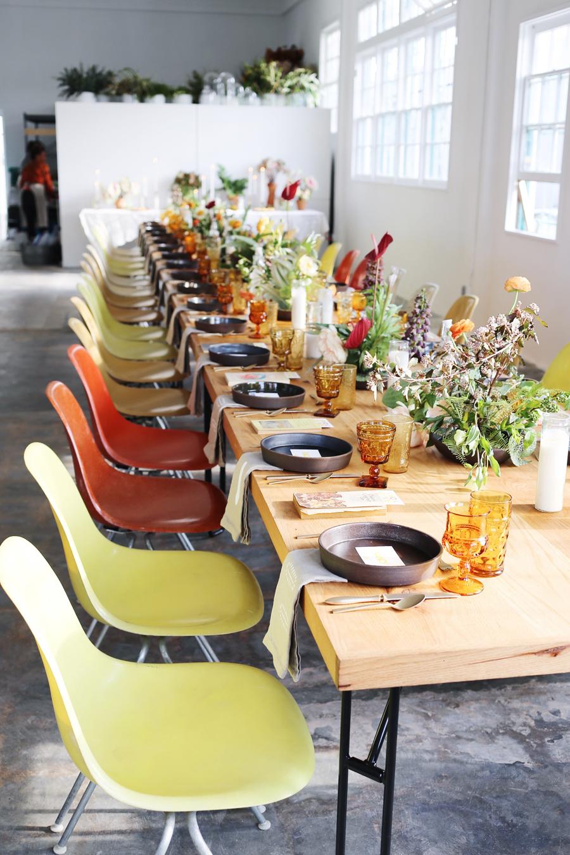 Sunfolk Seveties Los Angeles | Filigree Suppers | Dine X Design