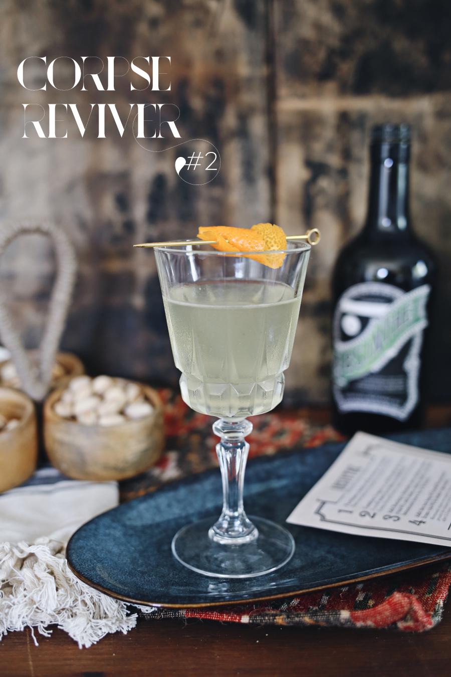 Corpse Reviver #2 Cocktail | Dine X Design