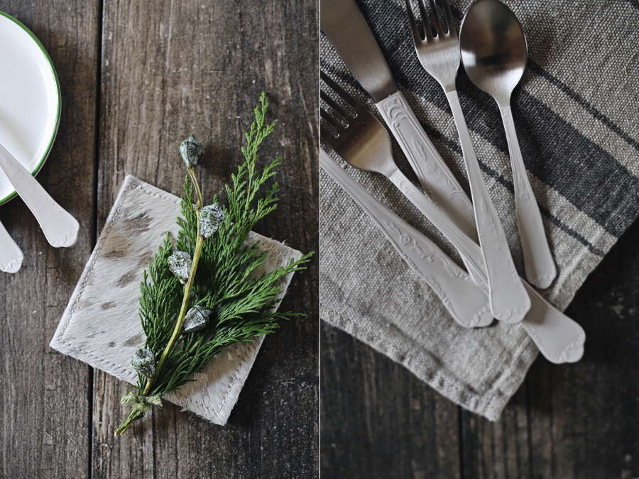 Canvas Home | Modern Holiday Table Details | Dine X Design
