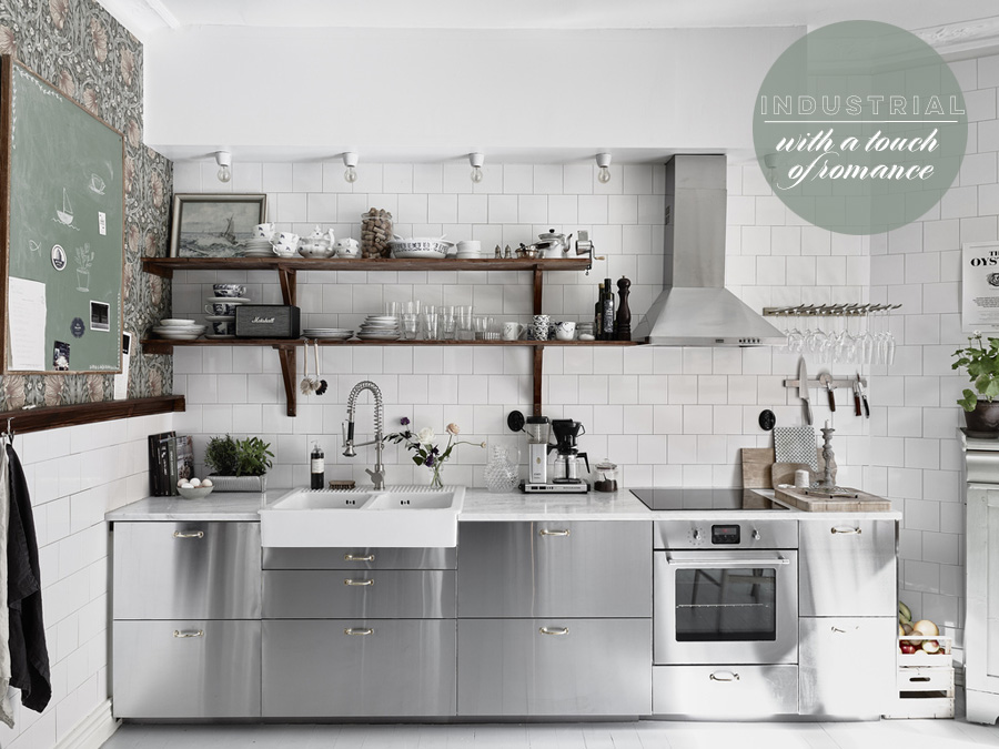 Industrial Romance Kitchen | Dine X Design