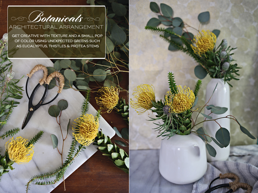 Minimalist Spring Botanical Inspiration | Dine X Design