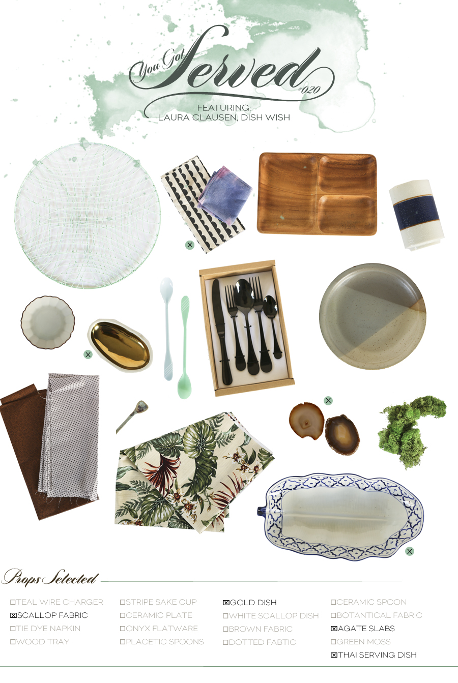 Dine X Design | You Got Served Dish Wish | Box 007 | Dine X Design
