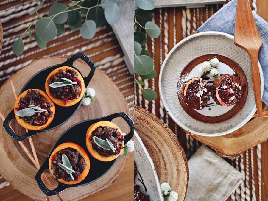 lamb-stuffed-persimmons-choclate-fig-cakes-dine-x-design