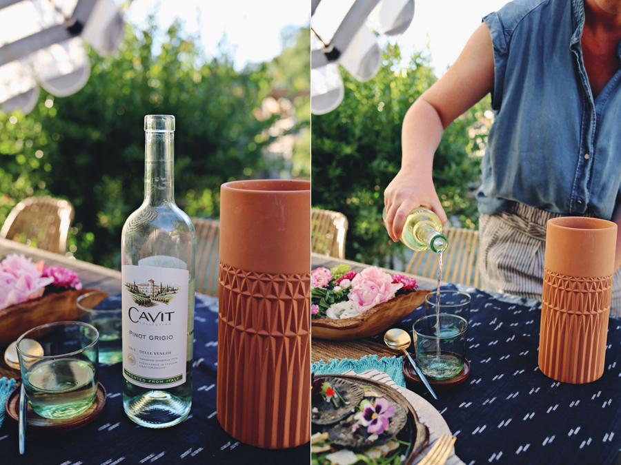 Cavit Wines Entertaining | Dine X Design